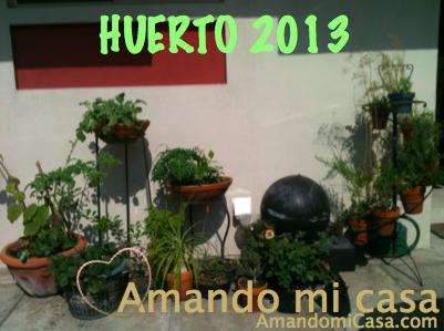 huerto 2013