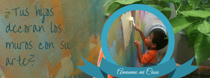 Tus hijos decoran los muros