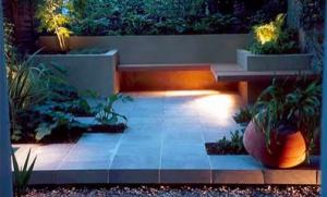 jardín minimalista 1