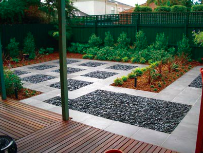 Jardin minimalista archives for Pavimentos para jardines y terrazas