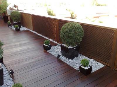 Huerto en casa y jardin el jardin minimalista for Jardines con piedras y madera