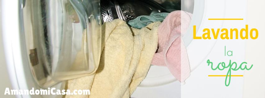 Lavando la ropa