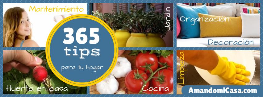 365 tips para tu hogar