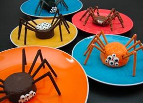 dulces arañas