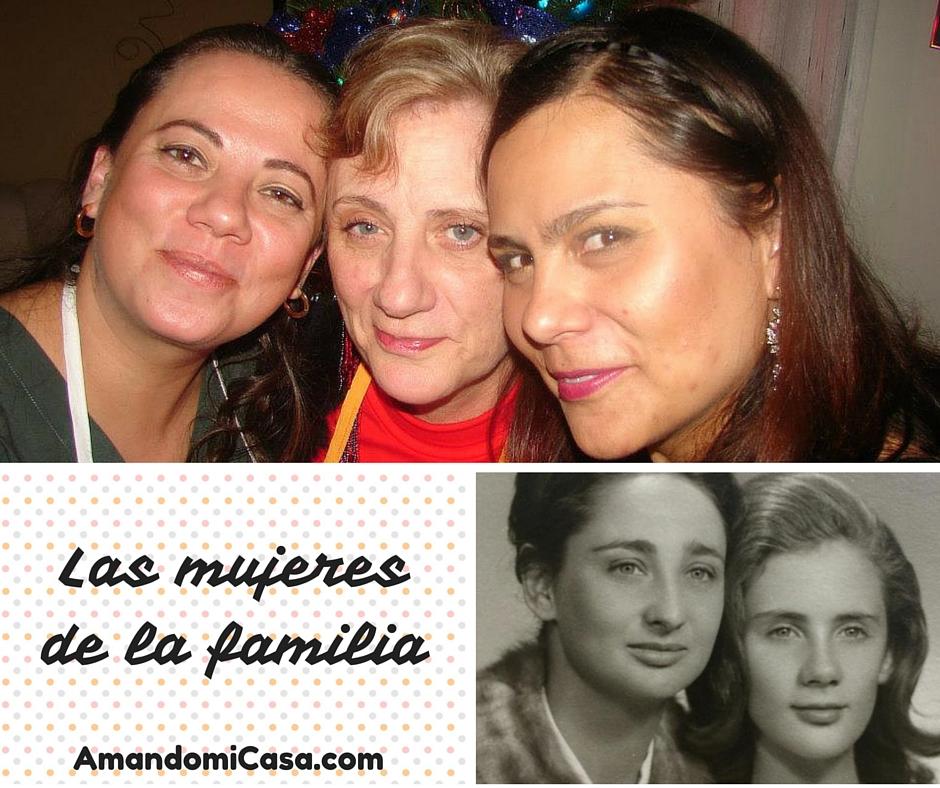 Las mujeres de la familia