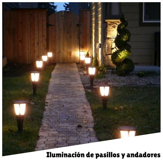 Ilumina tu jardín