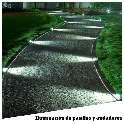 Ilumina tu jard n for Iluminacion caminos jardin