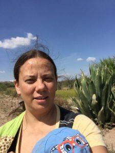 un huerto en el desierto