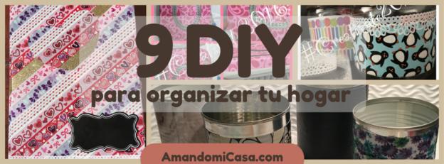 DIY para organizar tu hogar