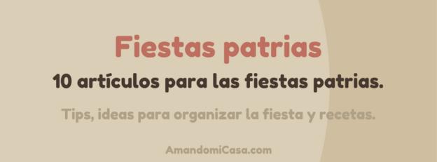 Especial Amando las Fiestas Patrias 2017